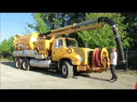 For Sale Ford L800 Vac Truck Vactor 2112 Rodder Vacuum Extractor bidadoo.com