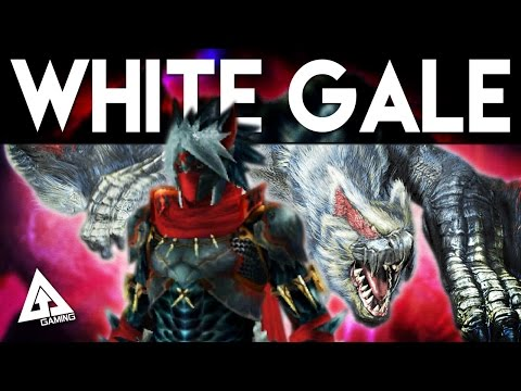 Monster Hunter Generations White Gale Nargacuga Armor Weapon