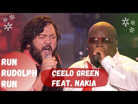 """CeeLo Green feat. Nakia - """"Run Rudolph Run"""" [Live]"""