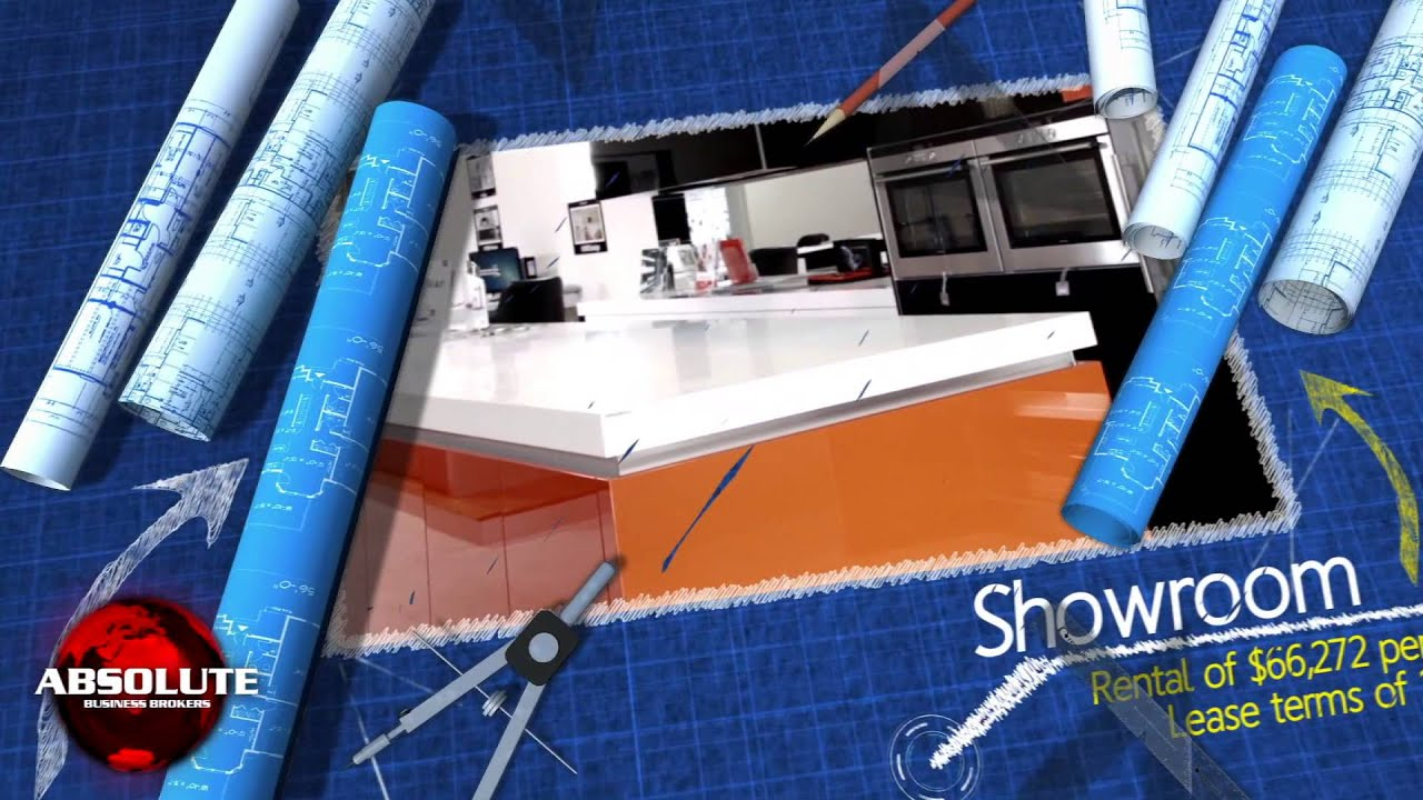 kitchen design business for sale - youtube