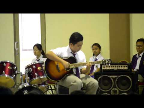 Sprint Sungha Jung - Josiah Raffles Christian School 2015-2016