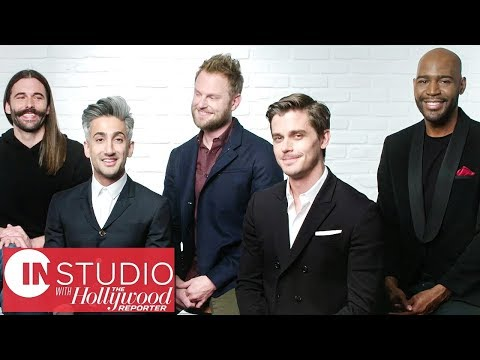 'Queer Eye' Cast on Wedding Plans, Dealing With Haters & More! | In Studio With THR