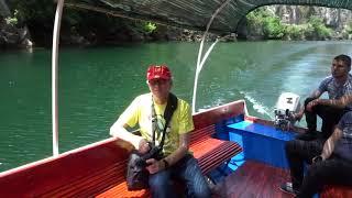 MAH04754 Boat trip on Matka Sea, Macedonia