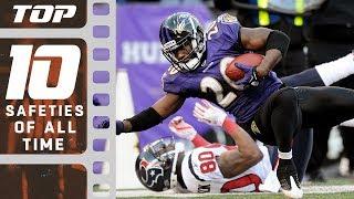 Top 10 Safeties of All Time | NFL Films