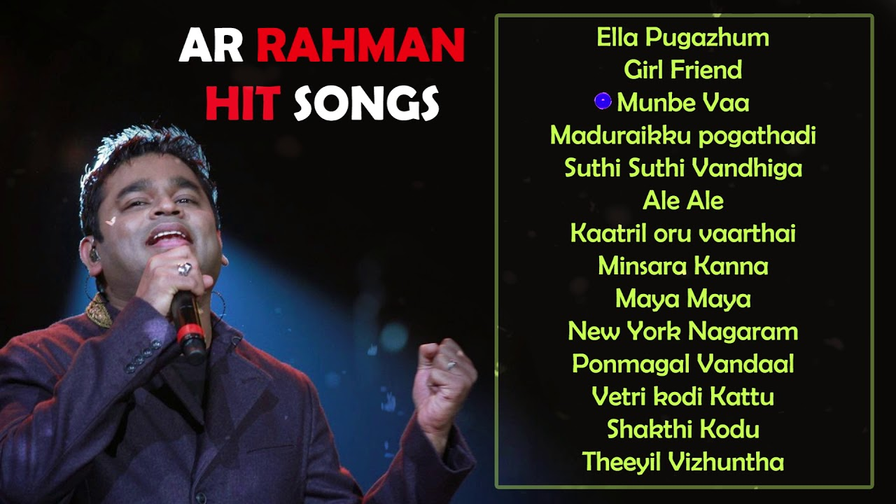 A R Rahman - Mp3 Download