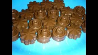 how to wrep chocolate