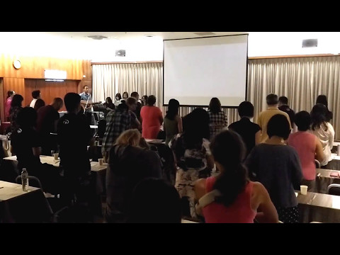 P&W at 2017 YWAM National Conference (Taipei Team)