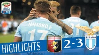 Genoa - Lazio - 2-3 - Highlights - Giornata 4 - Serie A TIM 2017/18