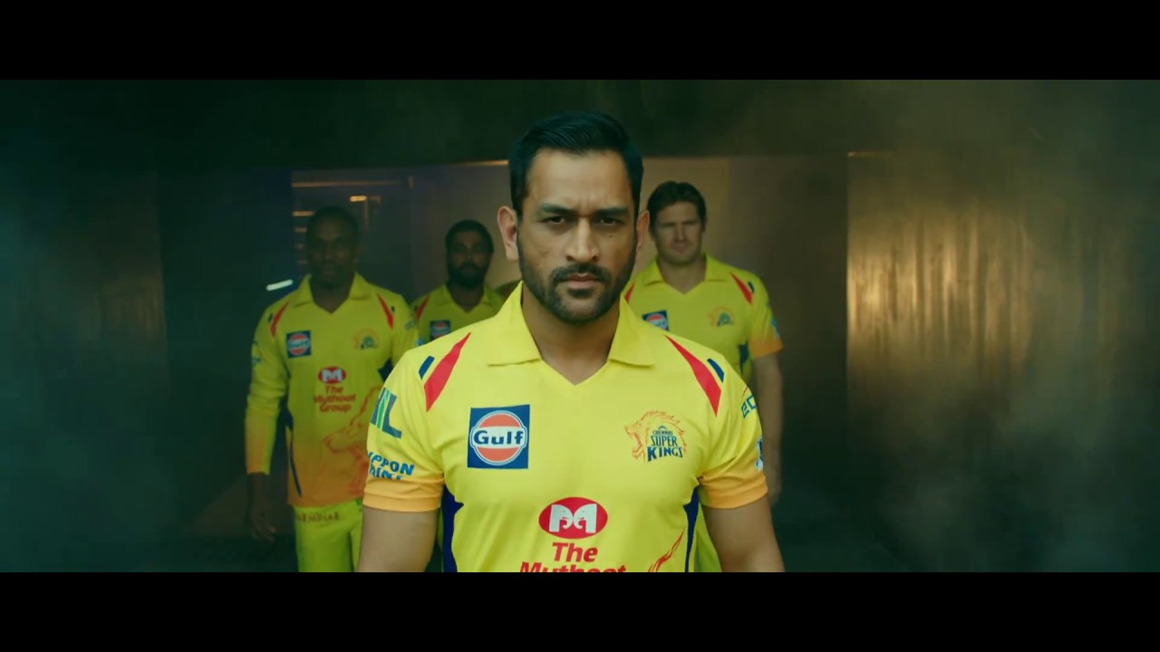 Official Csk Whistlepodu Video 2018 Youtube