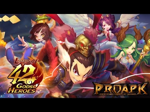 Legends of 42 Gods and Heroes Gameplay Android / iOS - 동영상