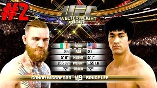EA Sports UFC Bruce Lee Versus Conor McGregor Spider Versus Hyper Grudge Match Ep 2 PS4 HD