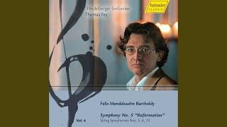 """Symphony No. 5 in D Major, Op. 107, MWV N15, """"Reformation"""": I. Andante - Allegro con fuoco"""