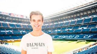 VI ER INDE PÅ REAL MADRIDS STADION!