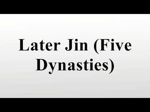 Later Jin (Five Dynasties)
