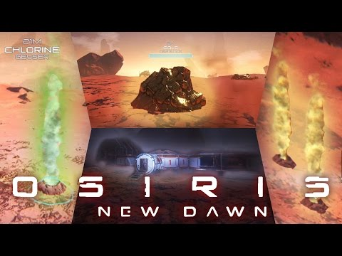 Osiris: New Dawn - Where to Find Hydrogen, Chlorine, Gold, And a SECRET BASE!!! (Gameplay - Part 4)