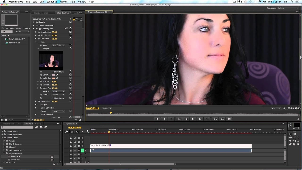 Beauty Box Video 3 0 Introduction for Adobe Premiere Pro