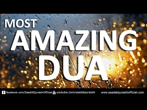 Prophet Muhammad's ﷺ Supplication - Listen This Beautiful DUA ᴴᴰ | Saad Al Qureshi