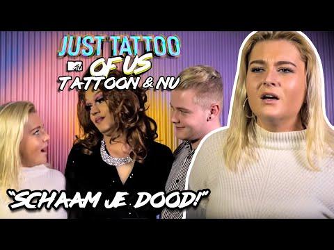 SANNE KRIJGT GRATIS FASTFOOD MET HAAR TATTOO | Just Tattoo of Us Benelux: Tattoon & Nu