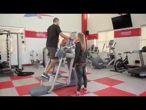 Precor AMT Full Body Workout