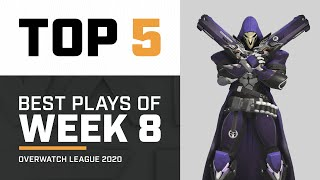 Top 5 | The Return of Battle Mercy | Overwatch League 2020