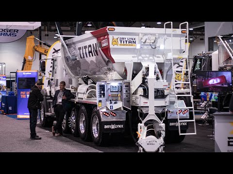 World Of Concrete 2020 - Bay-Lynx Titan Mixer Reveal