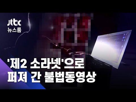 [단독] '제2 n번방'서 '제2 소라넷'…퍼져 간 불법동영상 / JTBC 뉴스룸