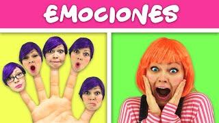 Canción de las Emociones | Canciones Infantiles Populares En Español con Lily Fresh