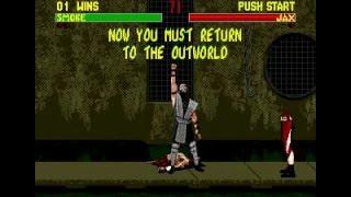 Mortal Kombat 2 SEGA (New version hack)