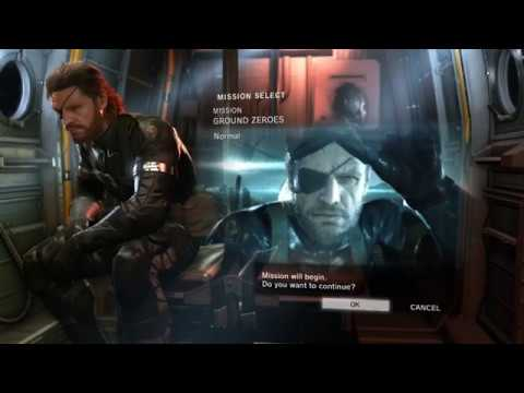 MGS  Ground Zero Lets try.