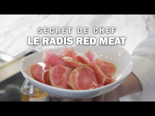 Le RADIS RED MEAT: le secret d'Éric Briffard