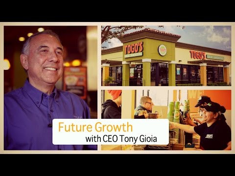 CEO Tony Gioia on the future growth plans of Togo's