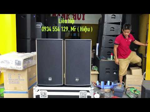 Test loa 3 tấc RCF dùng cho sân khấu và karaoke. LH 0934554129