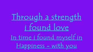 Happiness (lyrics) by Alexis Jordan