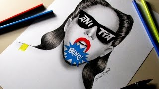 bang clipe oficial anitta desenho