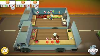 Overcooked Level 2-1 2 Player Co-op 3 Stars
