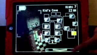 5 ночей в 2 Фредді на Андроїд (Fnaf2 ) - аниматроник - іграшка Чіка подивилася