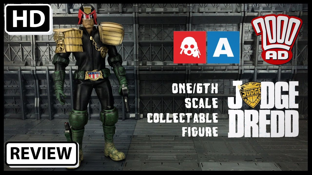 osw.zone Benscollectables takes a look at the now shipping 1/6th Judge Dredd from our 200...