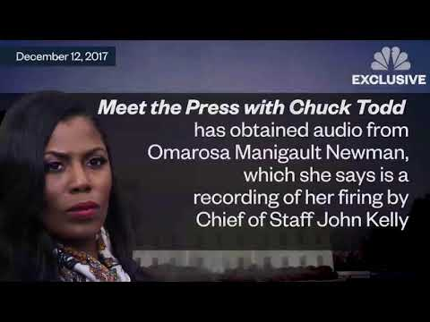 Omarosa Secretly Recorded John Kelly Firing Her In The SITUATION ROOM