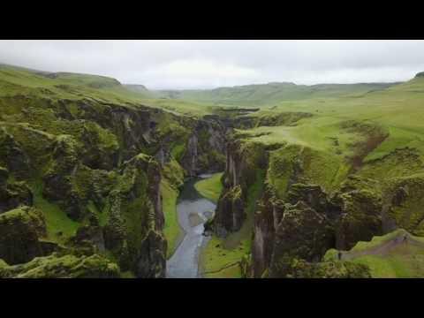 Colors of Beautiful Iceland 4k Fjadrargljufur Canyon , Game Of Thrones رحلتي الى ايسلاند
