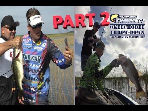 SMC - 12:11 - Mikey Balzz vs. Scott Martin - Okeechobee Bass Fishing Challenge PART 2