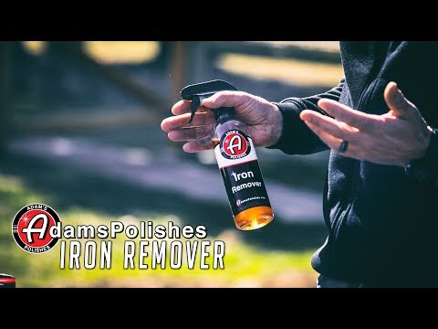 Remove Metal Fallout from your Finish | Adam's Iron Remover