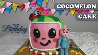 How to make Cocomelon Birthday CakeCocomelon Cake Aaravs 2nd Birthday Cake Chocolate CakePart 1