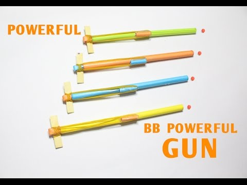 How to Make a Paper Pocket Pen Gun that Shoots BB Bullets - Easy Paper Gun Tutorials