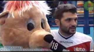 01-12-2013: Davide Saitta nel post Molfetta-Verona 3-0