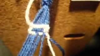 Плетение фенечек. Как делать буквы