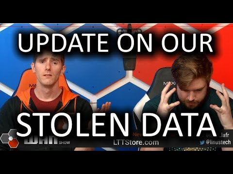 No justice for stolen NCIX data.. The WAN Show Jan 4 2018