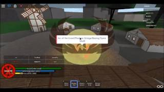 roblox arc of elements the moves of phoenix
