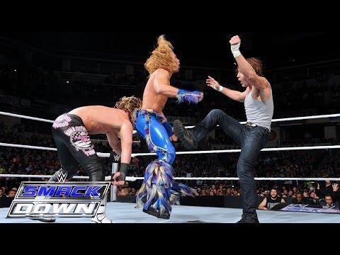 Intercontinental Titel Nr. 1 Herausforderer Triple Threat Match: SmackDown — 26. November 2015