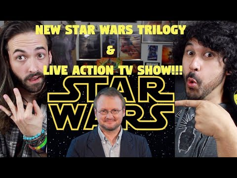 STAR WARS NEWS: NEW TRILOGY ANNOUNCED Developing by Rian Johnson & NEW LIVE ACTION TV SHOW!!!