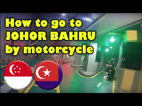 How to go to Johor Bahru by Motorcycle | SG Motovlog : 100 Subs Special!